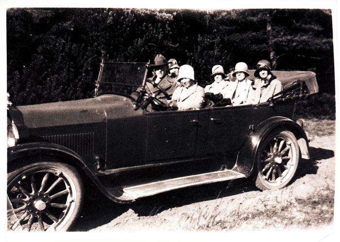 Åsljungas första taxi