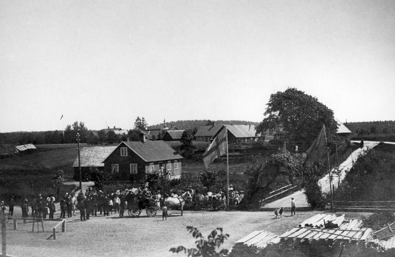 Celebert besök år 1910