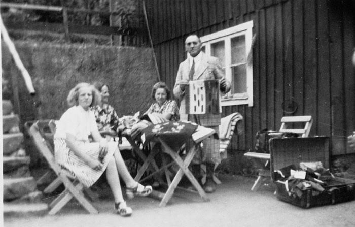 Kommers hos Ebba och Birger Larsson