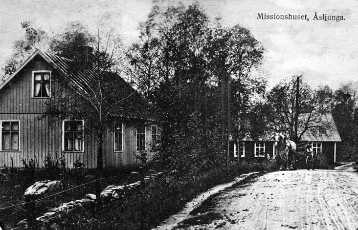 Missionshuset i Åsljunga
