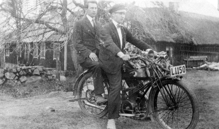 Motorcykel från 1928
