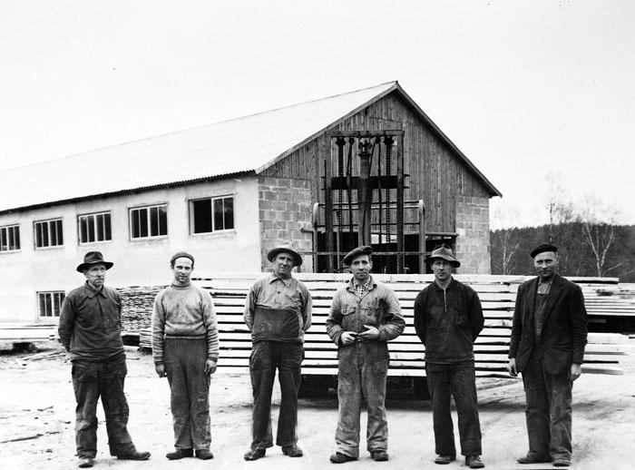 Familjen Eliassons sågverk i Åsljunga