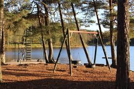 Bryggorna ska i sjön... @ Badplatsen